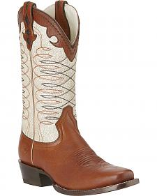 Ariat Amelia Boots - Square Toe