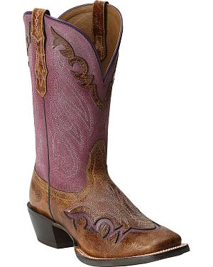 Ariat Trail Head Boots - Wide Square Toe