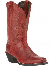 Ariat Legend Redwood Cowgirl Boots - Square Toe