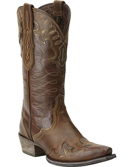 Ariat Zealous Cowgirl Boots - Snip Toe
