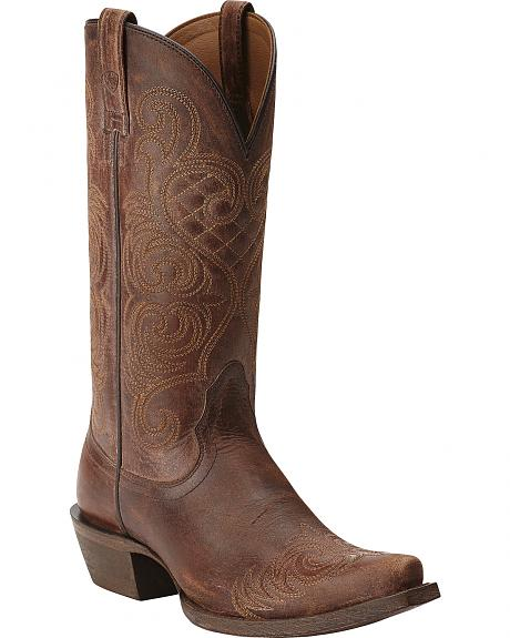 Ariat Bright Lights Cowgirl Boots - Snip Toe