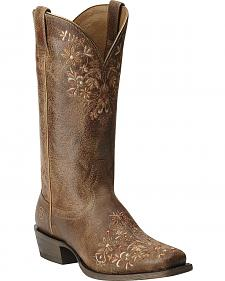 Ariat Women's Ardent Cowgirl Boots - Square Toe