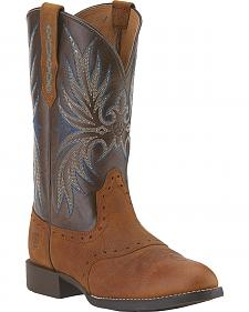 Ariat Women's Heritage Stockman II Cowgirl Boots - Round Toe