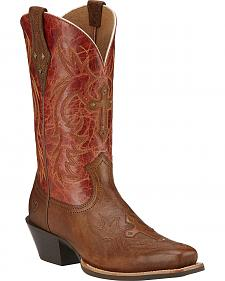 Ariat Legend Spirit Cowgirl Boots - Square Toe