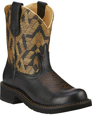 Ariat Fatbaby Heritage Vivid Cowgirl Boots