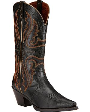 Ariat Womens Heritage Western Boots - Snip Toe