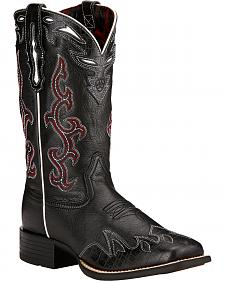 Ariat Sidekick Cowgirl Boots - Square Toe