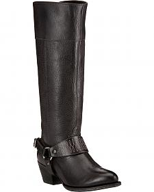 Ariat Sadler Black Women's Riding Boots - Round Toe