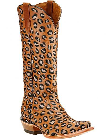 Ariat Wildcat Embroidered Cowgirl Boots - Snip Toe