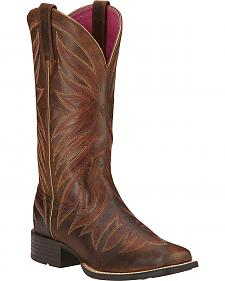 Ariat Brilliance Cowgirl Boots - Square Toe