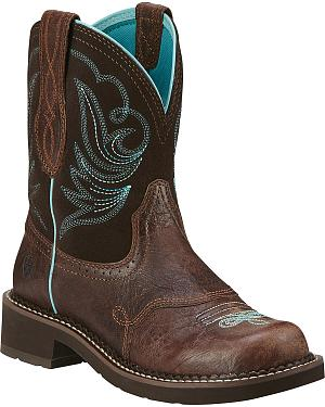 Ariat Fatbaby Heritage Dapper Cowgirl Boots - Round Toe