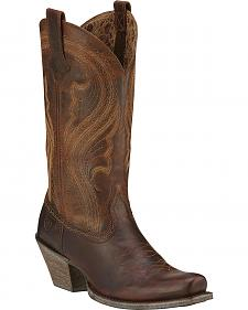 Ariat Lively Cowgirl Boots - Square Toe
