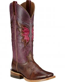 Ariat Mariposa Cowgirl Boots - Wide Square Toe