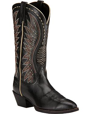 Ariat Ammorette Cowgirl Boots - Round Toe