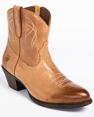 Ariat Womens Darlin Booties - Round Toe
