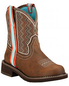 Ariat Fatbaby Heritage Ziggy Cowgirl Boots - Round Toe