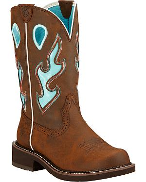 Ariat Fatbaby Heritage Tall Cowgirl Boots - Round Toe