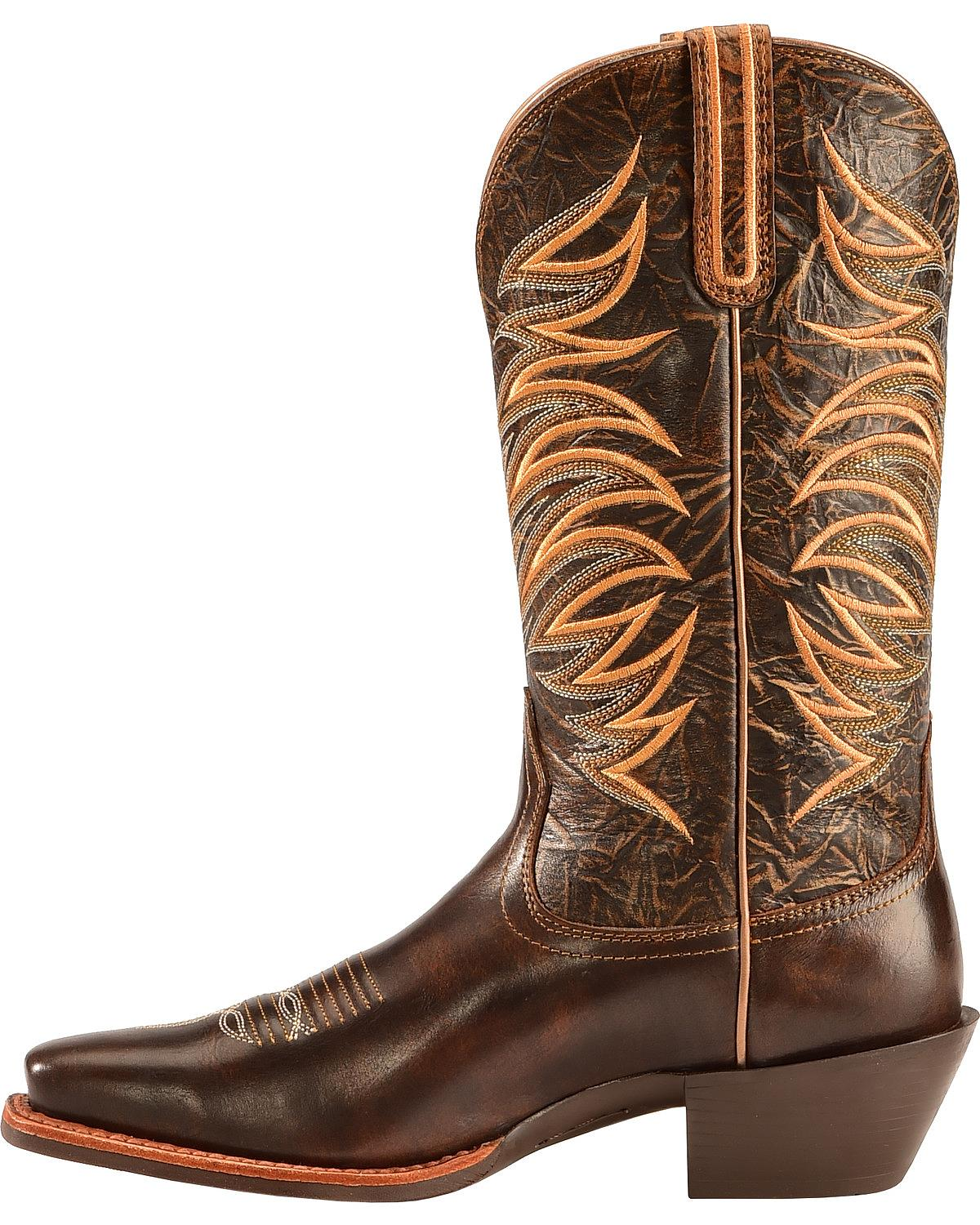 Amazing Ariat Womenu0026#39;s Quickdraw Cowgirl Boots - Square Toe | Sheplers