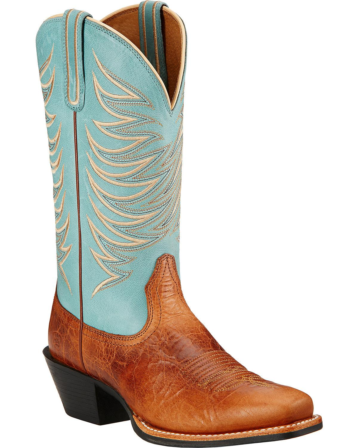 Innovative Ariat Womenu0026#39;s Mesquite Brown Square Toe Boots U2013 Outback Western Wear