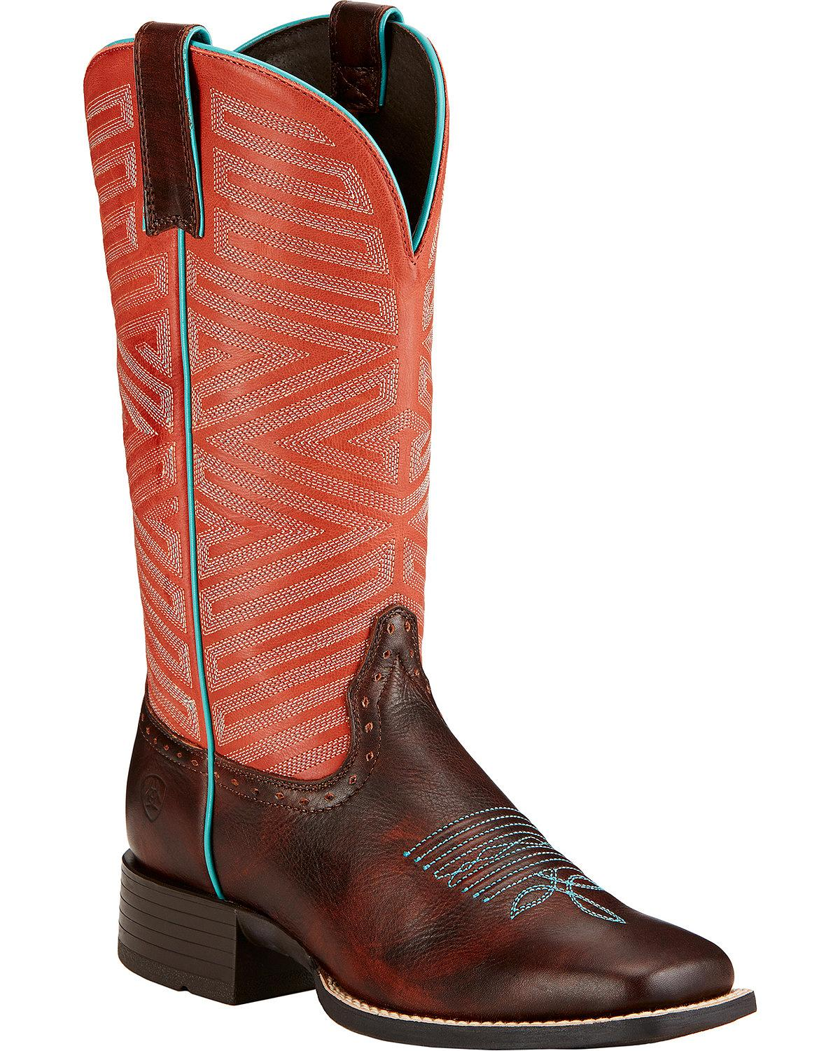 ariat s outsider boot square toe 10017372