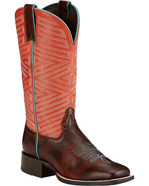 Ariat Outsider Cowgirl Boots - Square Toe