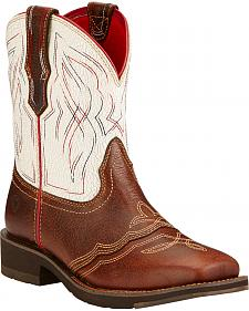 Ariat Ranchbaby II Cowgirl Boots - Square Toe
