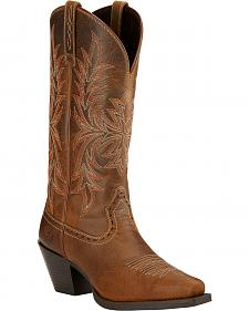 Ariat Round Up Maddox Cowgirl Boots - Snip Toe