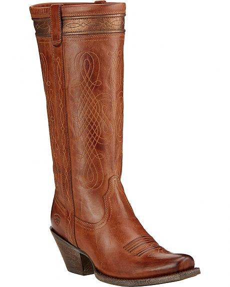 Ariat Trinity Western Riding Boots - Square Toe