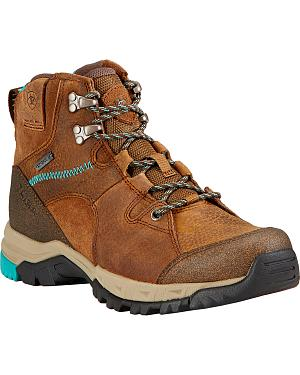 Ariat Skyline Mid GTX Hiking Boots - Turquoise Sole