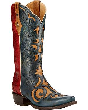 Ariat Sevilla Western Cowgirl Boots - Snip Toe