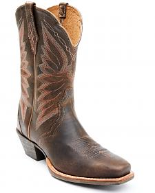 Ariat Woodsmoke Autry Performance Cowgirl Boots - Square Toe