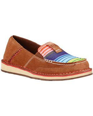 Ariat Womens Serape Cruiser Moccasins