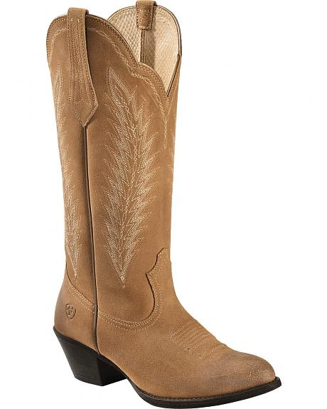 Ariat Driftwood Brown Desert Sky Cowgirl Boots - Round Toe