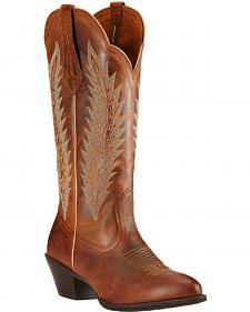 Ariat Sassy Brown Desert Sky Cowgirl Boots - Round Toe