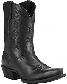 Ariat Women's Willow Short Cowgirl Boots - Snip Toe