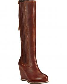 Ariat Cedar Ryman Wedge Cowgirl Boots - Round Toe