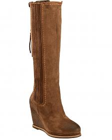 Ariat Moon Rock Ryman Wedge Cowgirl Boots - Round Toe