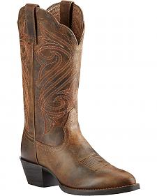 Ariat Women's Round Up Cowgirl Boots - Medium Toe