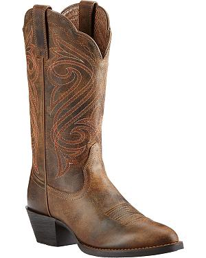 Ariat Womens Round Up Cowgirl Boots - Medium Toe