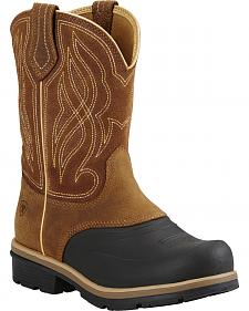 Ariat Caramel Brown Whirlwind Cowgirl Boots - Round Toe