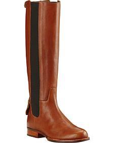 Ariat Women's Caramel Waverly Tall Boots - Round Toe