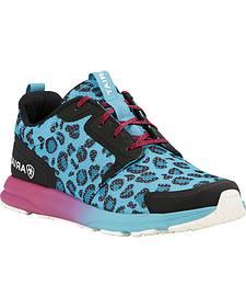 Ariat Women's Turquoise Fuse Leopard Shoes