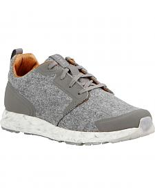 Ariat Women's Grey Suede Fusion Athletic Shoes