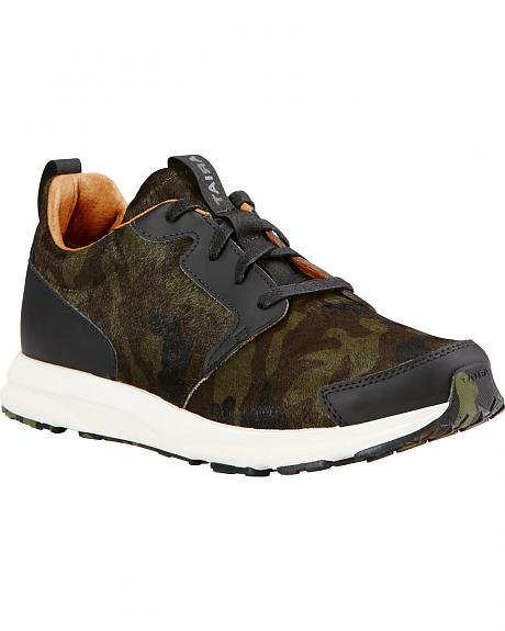 Ariat Women's Camo Suede Fusion Athletic Shoes