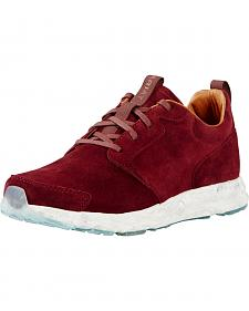 Ariat Women's Ox Blood Suede Fusion Athletic Shoes