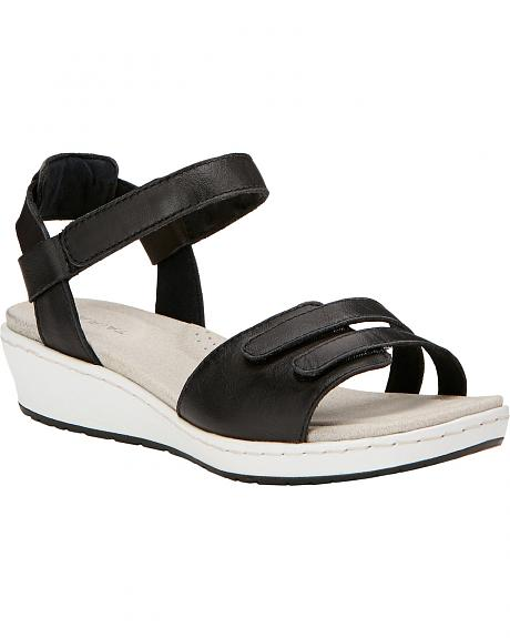 Ariat Women's Black Leisure Time Ankle Strap Sandals