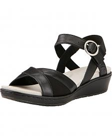 Ariat Women's Black Out & About Strap Sandals