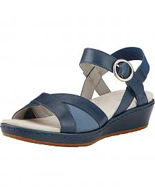 Ariat Women's Blue Out & About Strap Sandals