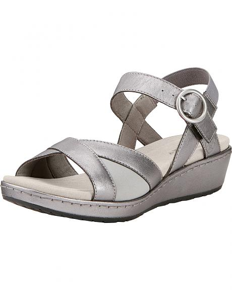 Ariat Women's Silver Out & About Strap Sandals