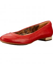 Ariat Women's Chili Red Audrey Flats